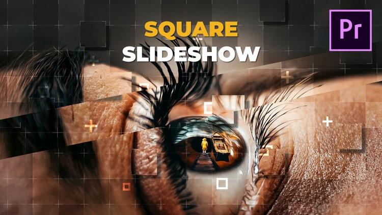 Square Slideshow: Premiere Pro Templates