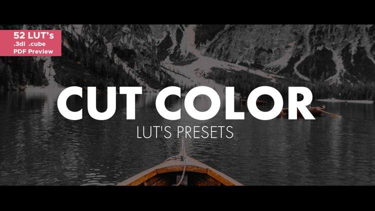 Cut Color LUT's: Premiere Pro Presets