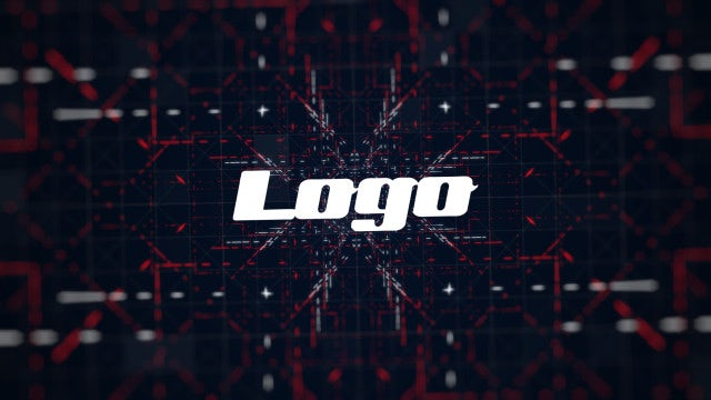 Logo - Abstract Technology: After Effects Templates