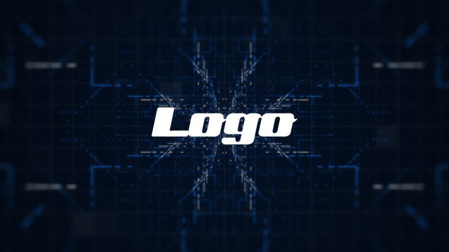Logo - Abstract Technology: Premiere Pro Templates