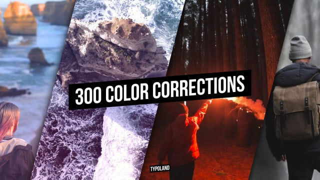 300 Color Correction: After Effects Presets