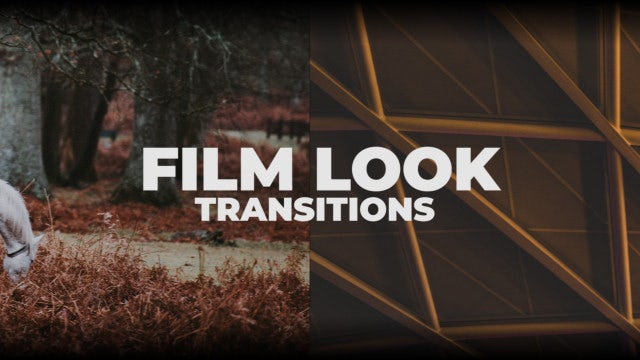 Film Look Transitions: Premiere Pro Presets