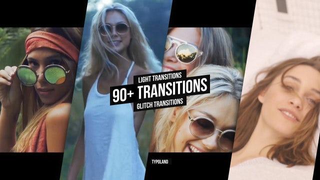 Transitions: Glitch, Camera, Light, RGB: Premiere Pro Presets