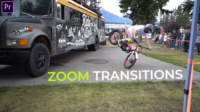 Zoom Transitions Presets: Premiere Pro Presets