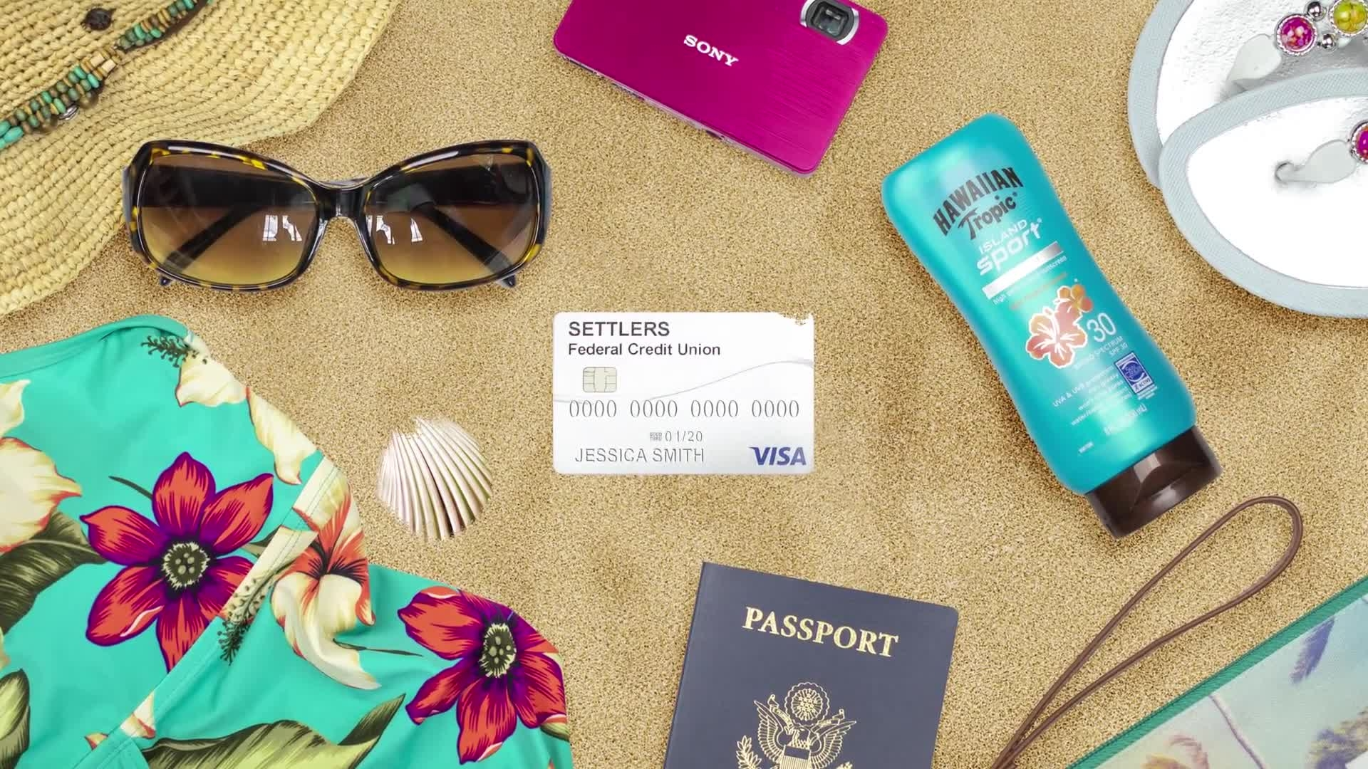Settlers Credit Union Visa Vacation