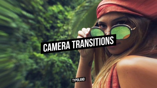 Camera Transitions: After Effects Presets