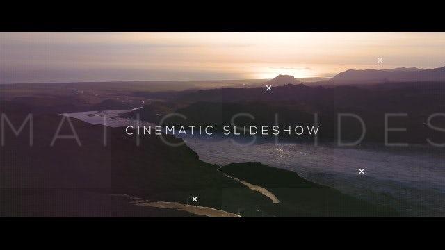 Cinematic Slides: Premiere Pro Templates