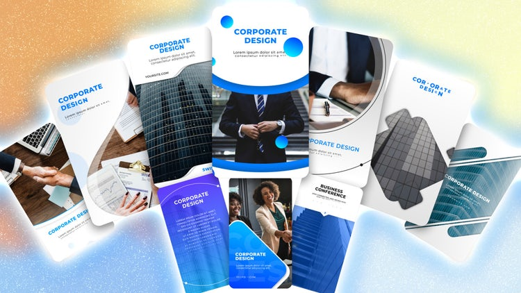 Instagram Corporate Stories Pack: After Effects Templates