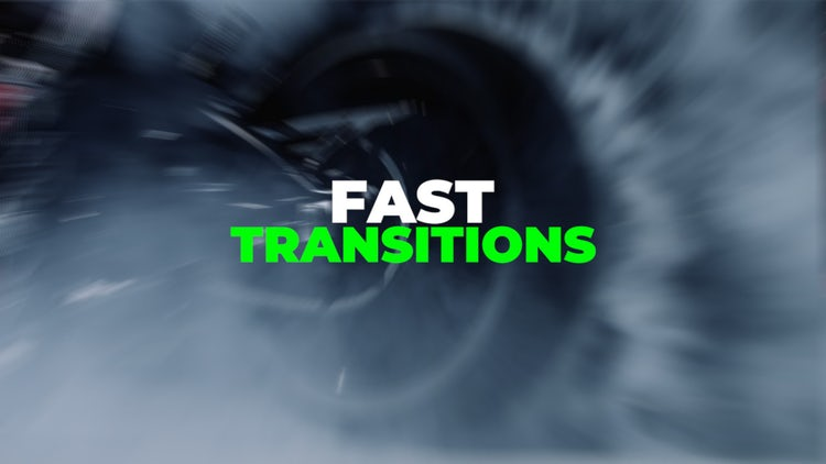 Fast Transitions: Premiere Pro Presets