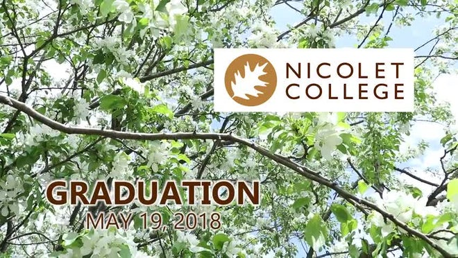 Nicolet College Graduation 2018