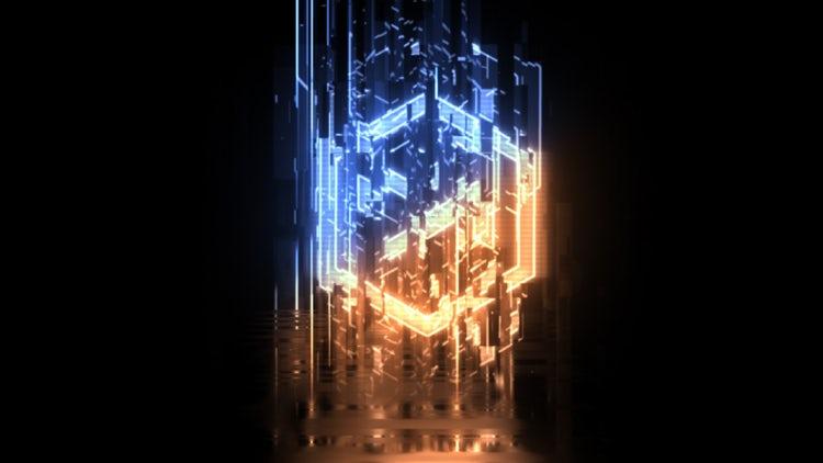 Glitch Sci Fi Logo: After Effects Templates