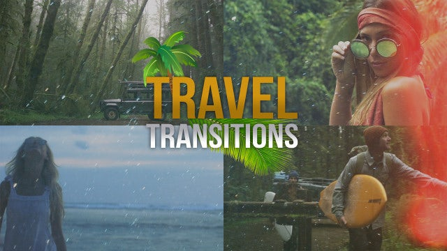 Travel Transitions: Premiere Pro Presets