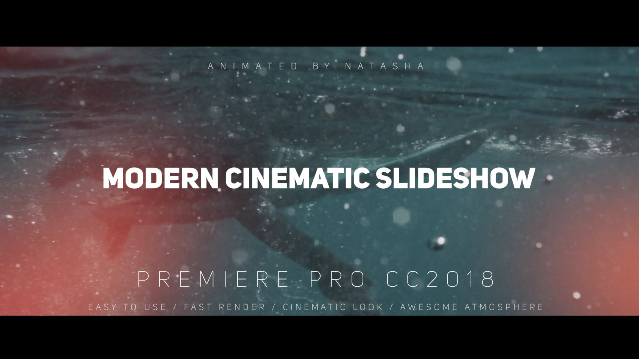 Modern Cinematic Slideshow - Premiere Pro Templates | Motion Array