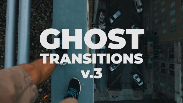 Ghost Transitions V.3: Premiere Pro Presets