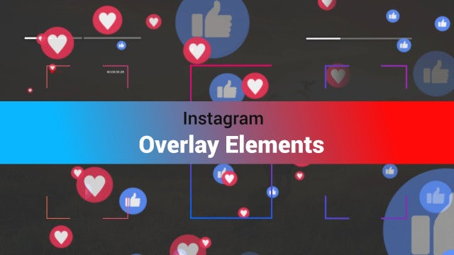Instagram Toolkit- Overlays V1: Motion Graphics Templates