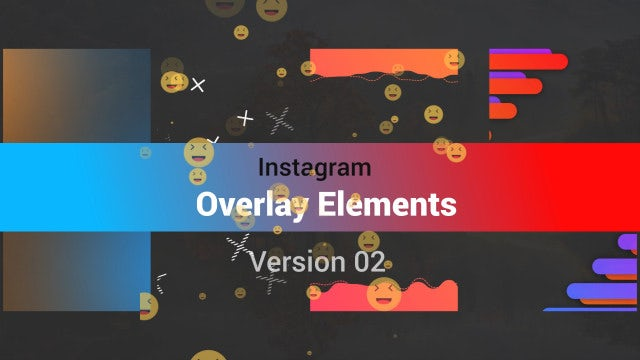 Instagram Toolkit-Overlays V2: Motion Graphics Templates