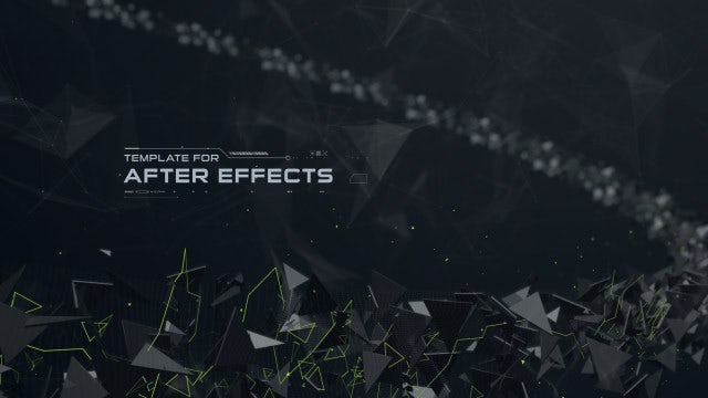 Abstract Space - Movie Credits: After Effects Templates