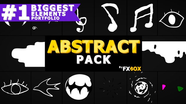 Abstract Elements And Transitions: After Effects Templates