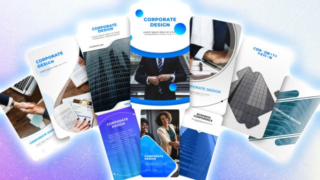 Instagram Corporate Stories Pack: Motion Graphics Templates