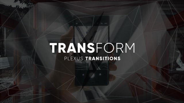TransForm - Plexus Transitions: Premiere Pro Templates