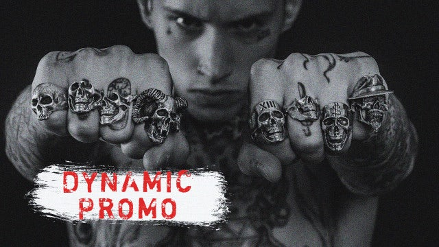 Dynamic Trap Promo: Premiere Pro Templates