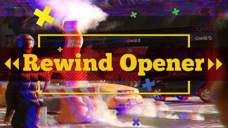 Rewind Opener: Premiere Pro Templates