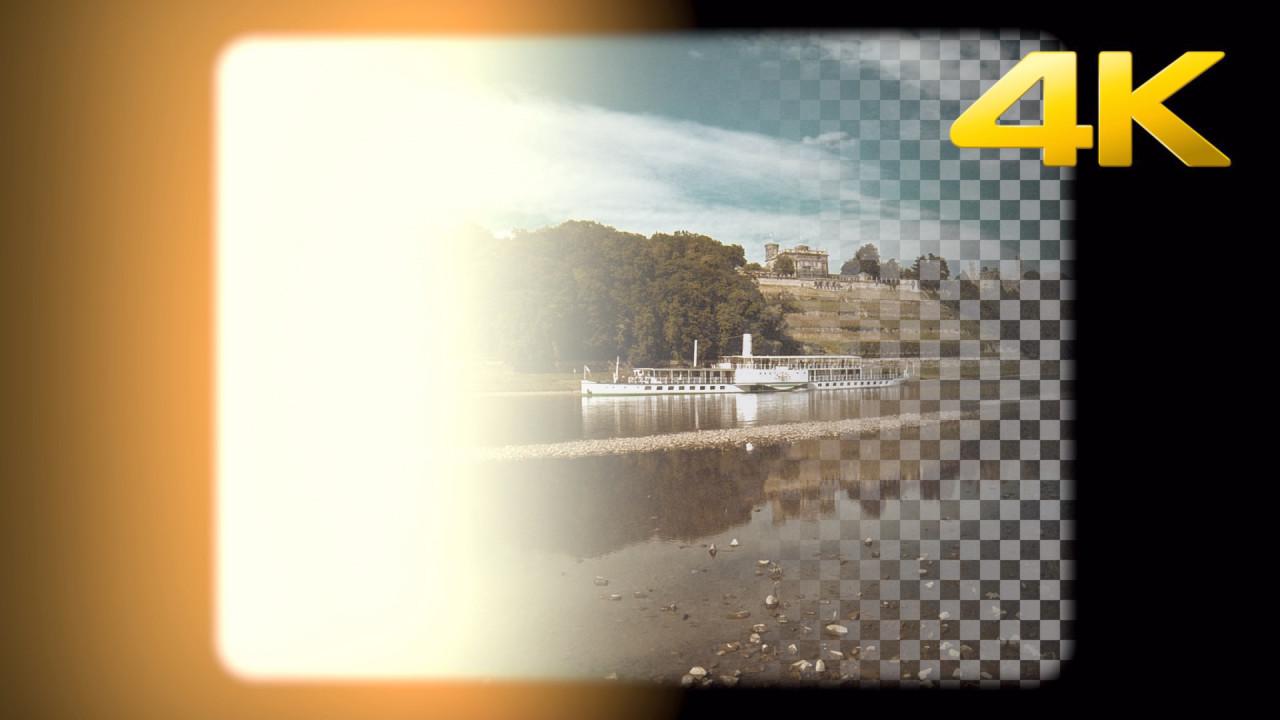Super 8mm Light Transition Overlay - Stock Motion Graphics