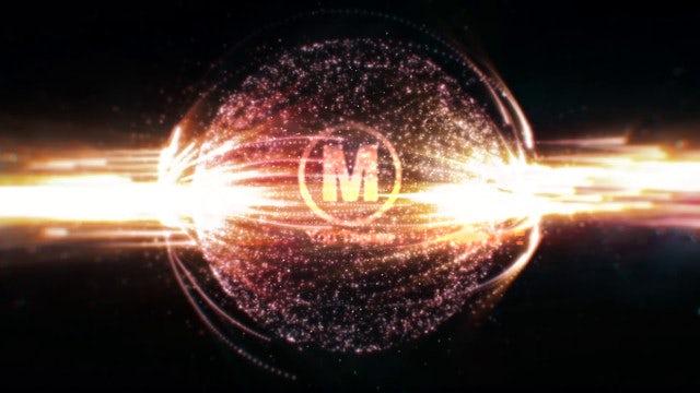 Space Explosion Logo Reveal: Premiere Pro Templates