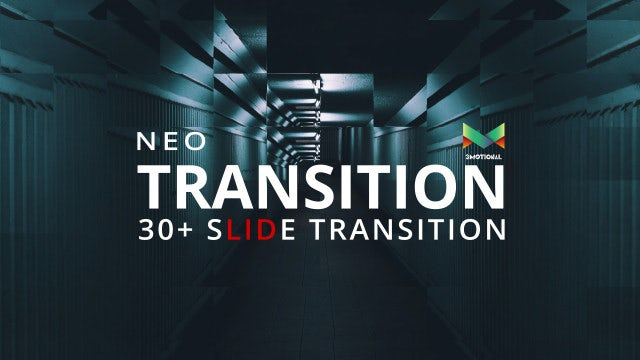 Neo Slide Transition: After Effects Templates