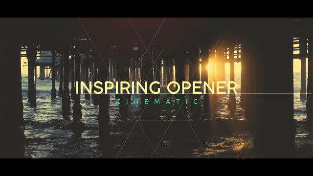 Inspiring Cinematic Opener: After Effects Templates