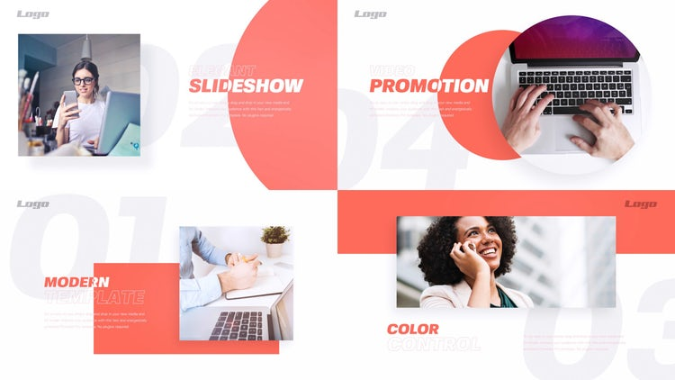 Business Presentation: After Effects Templates