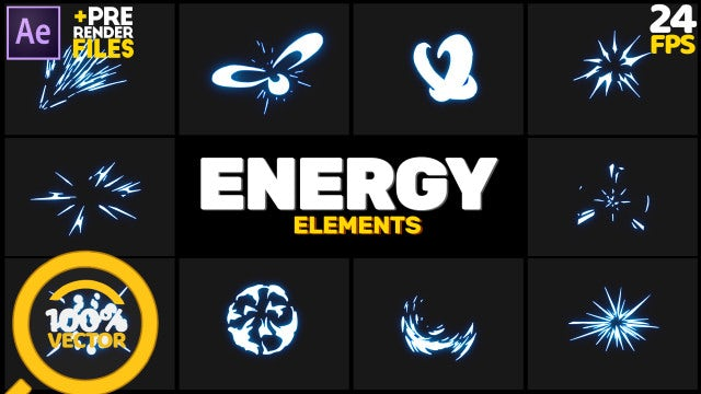 Energy Pack: After Effects Templates