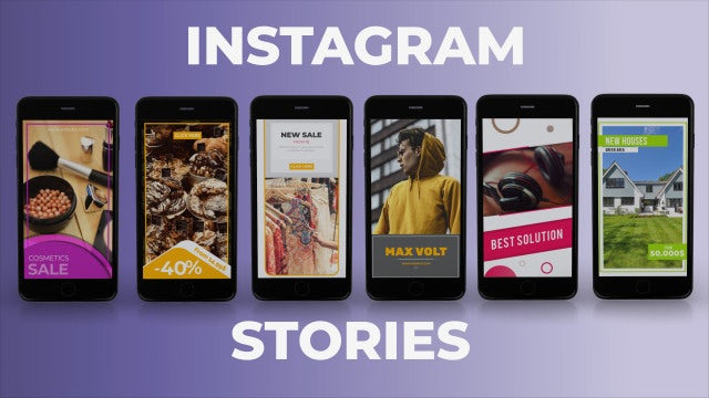 Instagram Stories 2: After Effects Templates