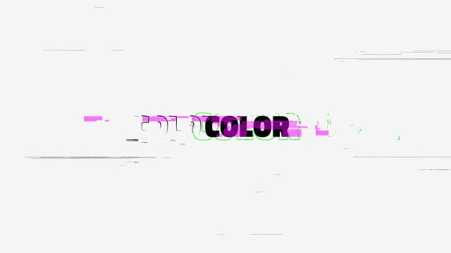 Glitch Color Logo - After Effects Templates | Motion Array