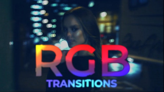RGB Transitions: After Effects Presets
