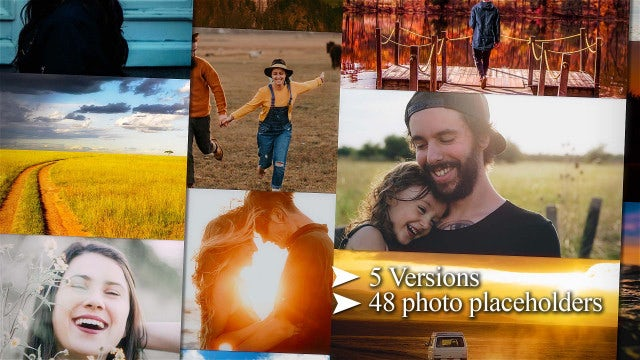 Multi Photo Logo (pack): After Effects Templates
