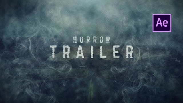 Horror Trailer: After Effects Templates