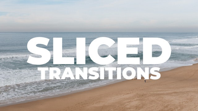 Sliced Transitions: Premiere Pro Presets