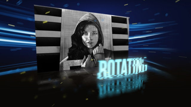 Rotating Slideshow Opener: After Effects Templates