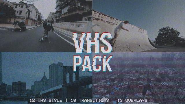 VHS Pack: Premiere Pro Presets