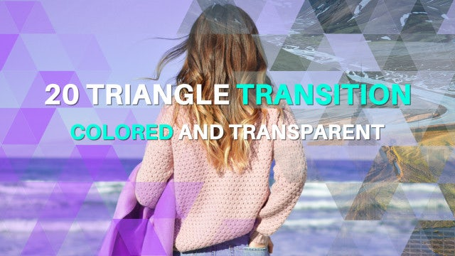 Triangle Transitions: Premiere Pro Templates