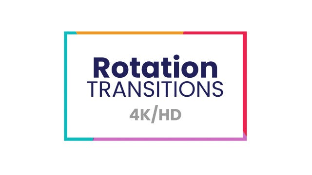 Rotation Transitions: After Effects Presets