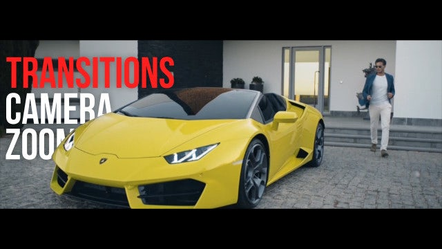 Zoom Camera Transitions: Premiere Pro Presets