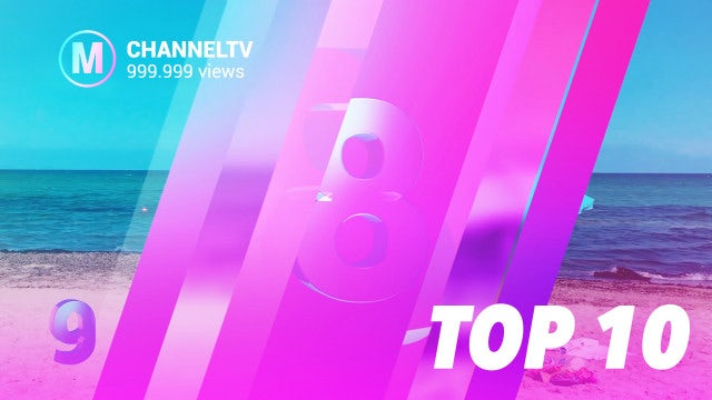Top 10 Slideshow: After Effects Templates
