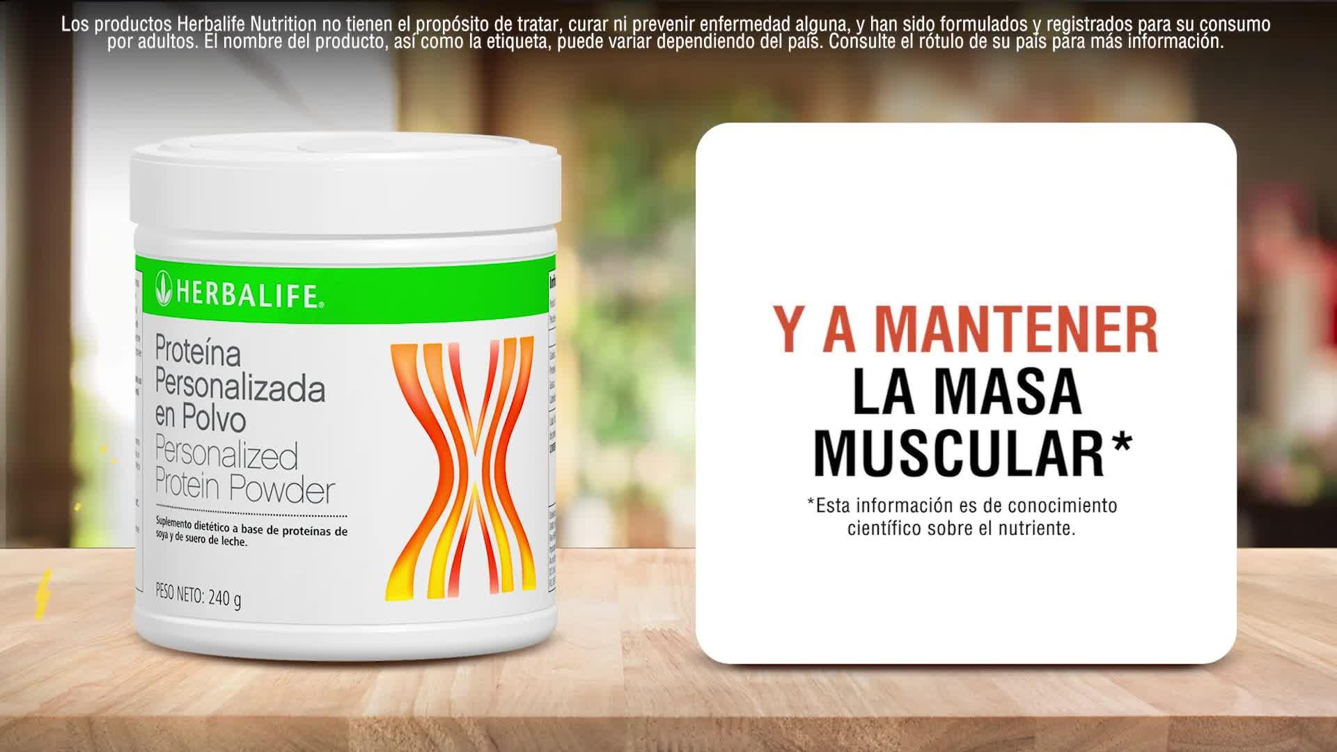 Herbalife Nutrition - Proteína en Polvo Personalizada