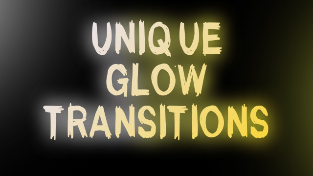 Unique Glow Transitions 184918 + Music