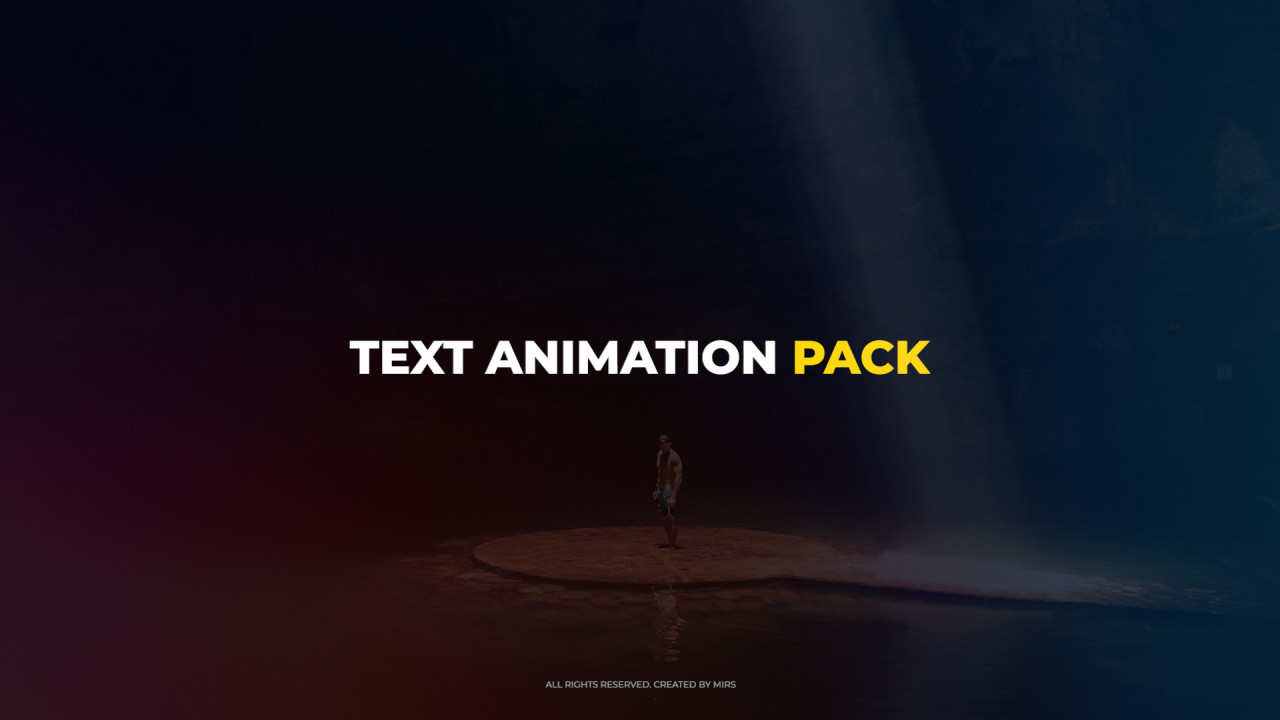 Text Animation Pack 185402 + Music