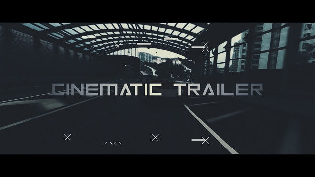 Cinematic Launch Trailer: After Effects Templates