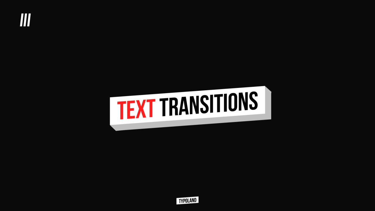 Text Transitions 185616 + Music
