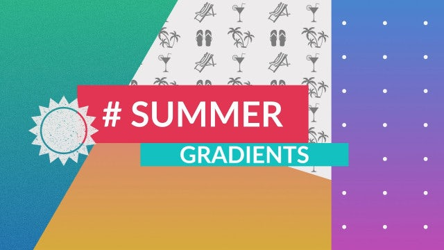 Summer Gradients: After Effects Templates